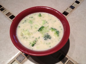 Cream of Broccoli Soup for Vegans