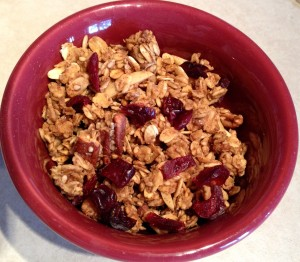 The first granola recipe I tried had TWO cups of oil for 12 cups of oats. Ten years ago, I thought nothing of it.
