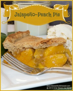jalapeño peach pie