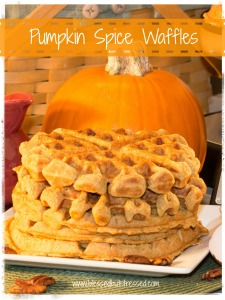 #PSL lovers, you'll love these pumpkin spice #waffles! http://wp.me/p2UZoK-z9