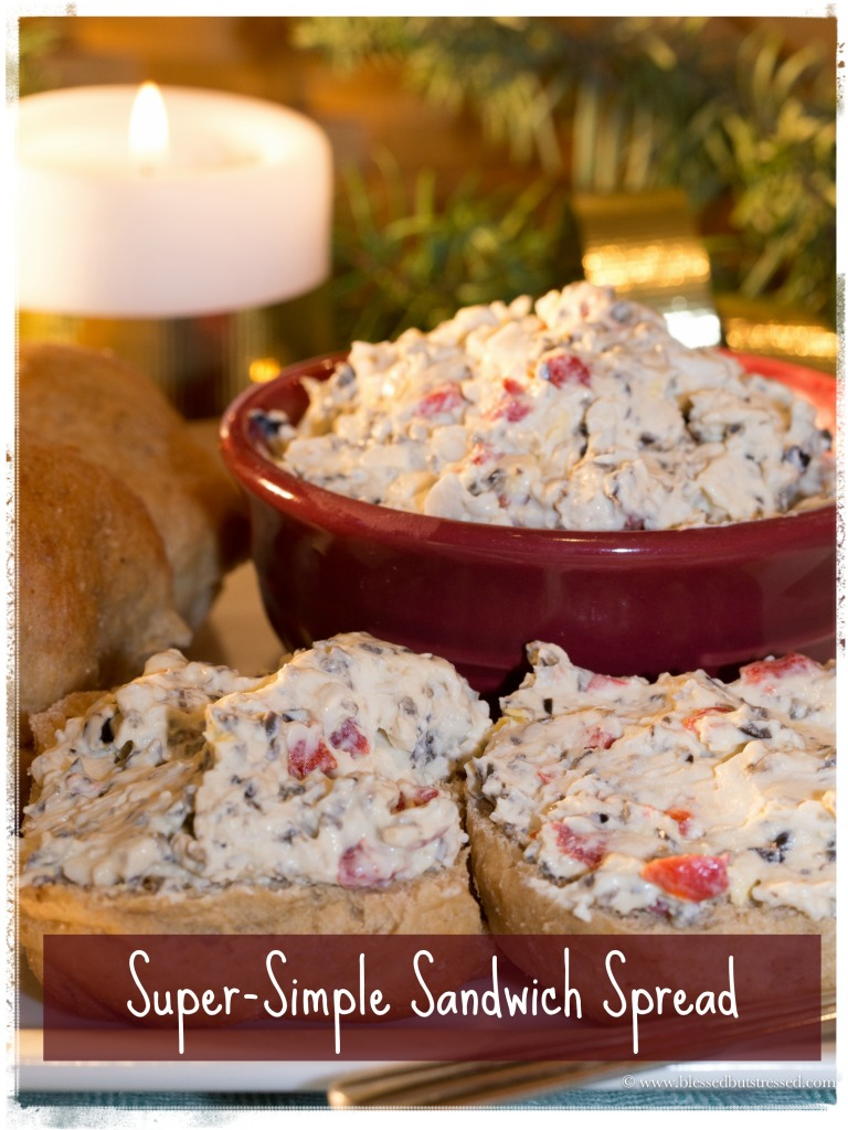Super Simple Sandwich Spread http://www.simplyjesusministries.com/thoughts/keeping-christmas-simple-super-simple-sandwich-spread