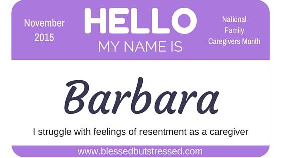 battling resentment during caregiving