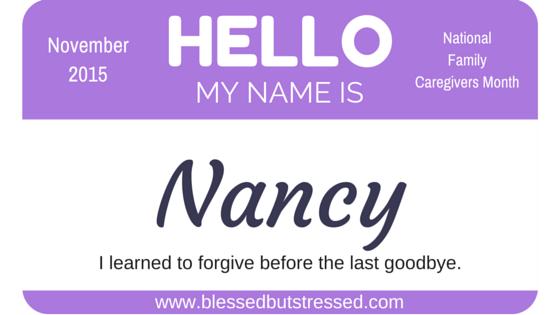 Caregiving and Forgiveness