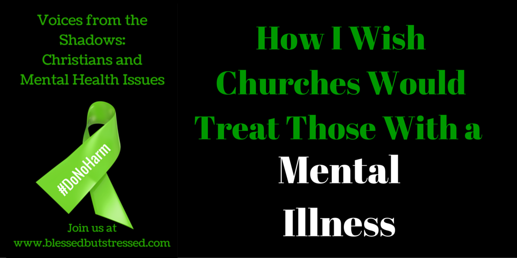 church would treat mental illness