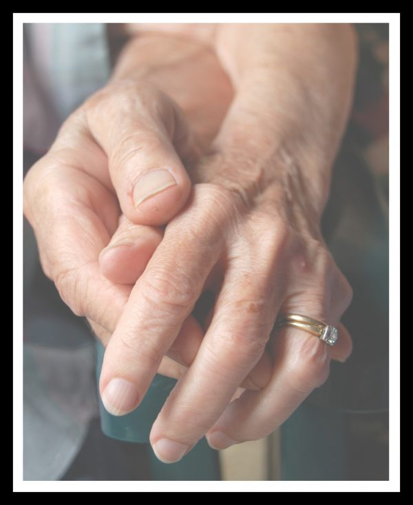 Loving hands are caregivers for life